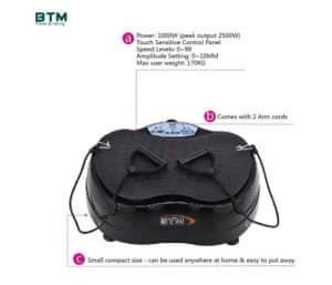 BTM crazy fit vibration plate