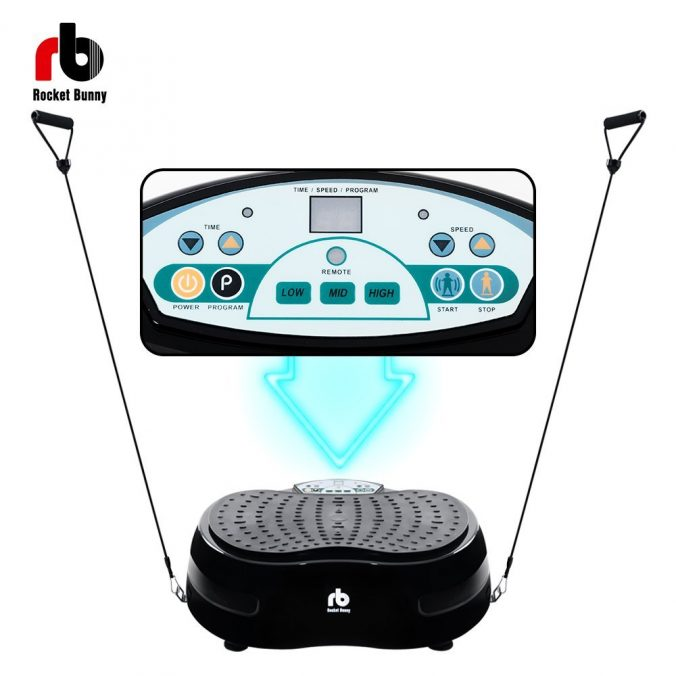 Rocket Bunny - Crazy Fitness Vibration Power Plate 1000W Review