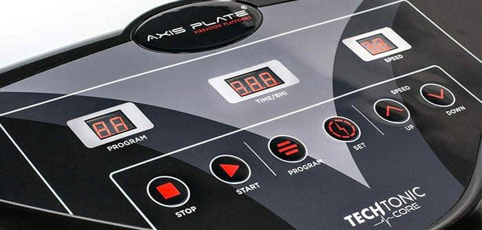Axis-Plate Whole Body Vibration Platform