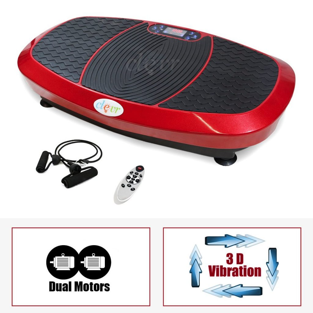 Clevr 3D Fitness Whole Body Vibrating Platform Review