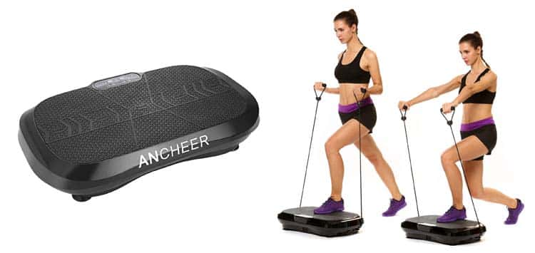 1. Ancheer Whole Body Vibration Plate Review