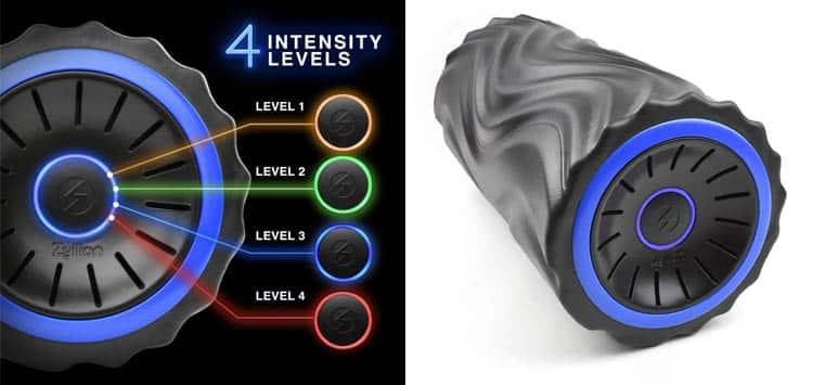 Zyllion 4-Intensity Vibrating Foam Roller