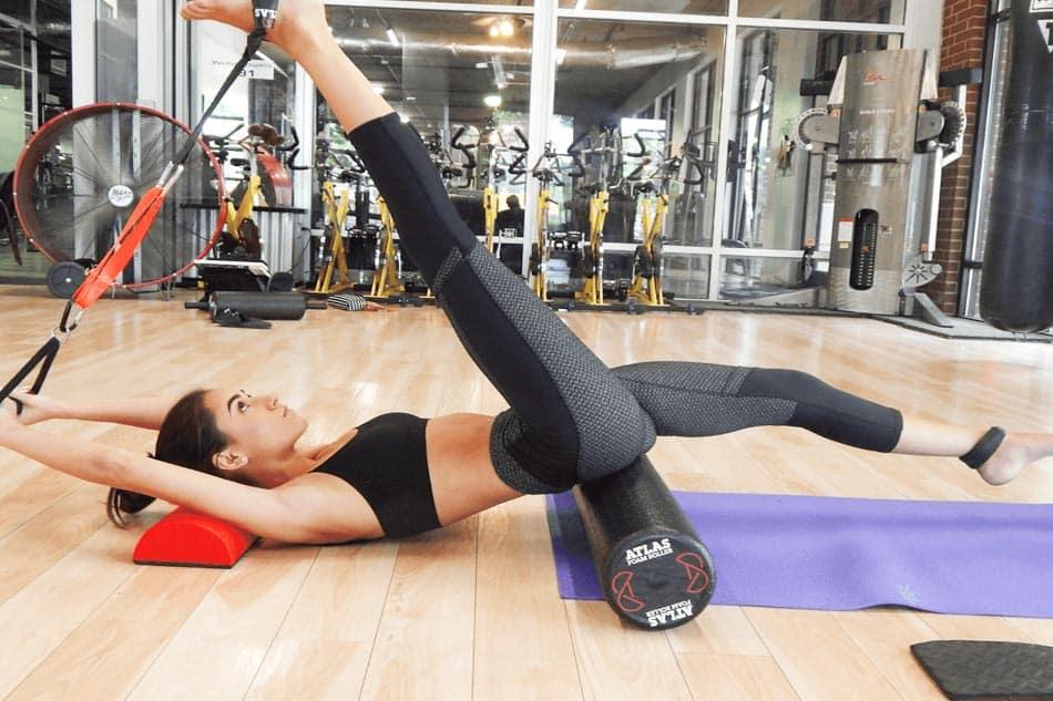 Vibrating Foam Roller Exercises
